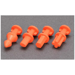 シリコーンゴム型用ホールド&ガイドダボピン S オレンジ