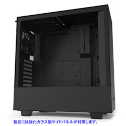 CA-H510B-B1 (ミドルタワーケース/ブラック・ブラック)