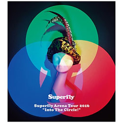 """Superfly/Superfly Arena Tour 2016 """"Into The Circle!"""" 初回限定盤 DVD"""