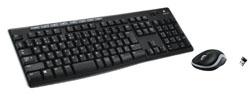 ワイヤレスキーボード[2.4GHz・USB]&マウス ワイヤレスコンボ (ブラック) MK270