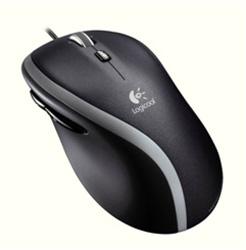 M500t Logicool Corded Mouse(有線マウス/レーザー方式/7ボタン/ブラック)