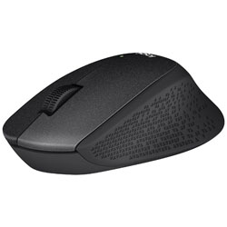 M331BK マウス ブラック [光学式 /3ボタン /USB /無線(ワイヤレス)]