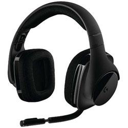 ロジクール(Logicool) G533 ゲーミングヘッドセット ブラック [ワイヤレス(USB) /両耳 /ヘッドバンドタイプ]