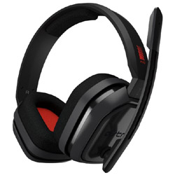 Logicool G Astro A10 Headset PC グレー/レッド A10-PCGR