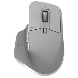 MX2200sMG(ミッドグレー) MX Master 3 Advanced Wireless Mouse [Bluetooth/2.4GHz アドバンスド ワイヤレスマウス・7ボタン]