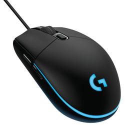 logicool(ロジクール) ゲーミング マウス G203 LIGHTSYNC ブラック G203-BK [光学式 /有線 /6ボタン /USB]