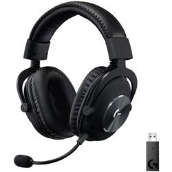 logicool(ロジクール) 【店頭併売品】 G-PHS-004WL ゲーミングヘッドセット G PRO X Wireless LIGHTSPEED ブラック [ワイヤレス(USB) /両耳 /ヘッドバンドタイプ]