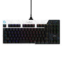 logicool(ロジクール) ゲーミングキーボード PRO K/DA ホワイト G-PKB-002LoL [有線 /USB]