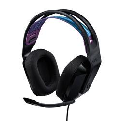 logicool(ロジクール) G335BK ゲーミングヘッドセット G335 ブラック [φ3.5mmミニプラグ /両耳 /ヘッドバンドタイプ]