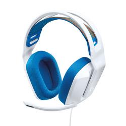 logicool(ロジクール) G335WH ゲーミングヘッドセット  ホワイト [φ3.5mmミニプラグ /両耳 /ヘッドバンドタイプ]