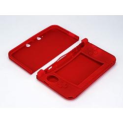 3DS LL用 シリコンプロテクタ3DLL レッド [3WF1417]