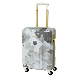 スーツケース ジッパーキャリー 37L グレー MD-0793-48GY [TSAロック搭載]
