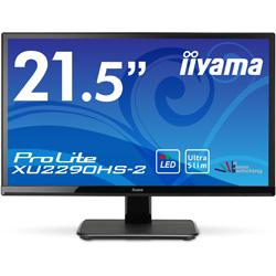 LEDバックライト搭載液晶モニター イーヤマ iiyama マーベルブラック XU2290HS-B2 [21.5型 /ワイド /フルHD(1920×1080)]