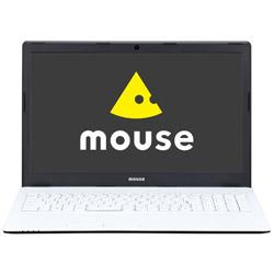 マウスコンピューター(mouse computer) 【CM記念モデル】 ノートPC mouse MB-B507HS ホワイト [Core i7・15.6インチ・メモリ 16GB・SSD 512GB]