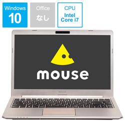 マウスコンピューター(mouse computer) 【CM記念モデル】 モバイルノートPC mouse MB-B400HS シャンパンゴールド[Core i7・14.0インチ・メモリ 8GB・SSD 512GB]