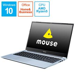 mouse(マウスコンピュータ) 【テレビCMモデル】 ノートパソコン mouse  MB5R5B201101 [15.6型 /AMD Ryzen 5 /SSD:256GB /メモリ:8GB]