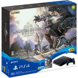 PlayStation 4 MONSTER HUNTER: WORLD Starter Pack Black CUHJ-10022 ジェット・ブラック