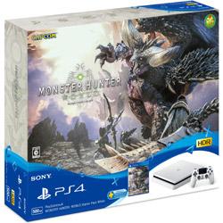 PlayStation 4 MONSTER HUNTER: WORLD Starter Pack White CUHJ-10023 グレイシャー・ホワイト