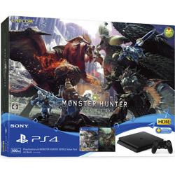 ソニー・インタラクティブエンタテインメント PlayStation4 MONSTER HUNTER: WORLD Value Pack [ゲーム機本体] [PS4] [CUHJ-10026]