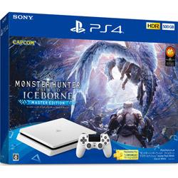 "PlayStation(R)4 ""モンスターハンターワールド:アイスボーン マスターエディション"" Starter Pack White CUHJ-10031"