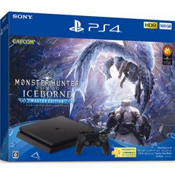 PlayStation 4 モンスターハンターワールド:アイスボーン マスターエディション Starter Pack Black