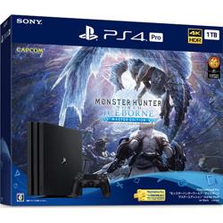 PlayStation 4 Pro モンスターハンターワールド:アイスボーン マスターエディション Starter Pack