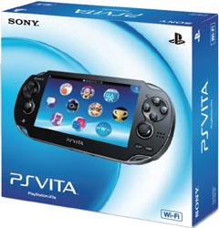 [使用]的PlayStation Vita的(维他的PlayStation)的Wi-Fi模型水晶黑色[PCH-1000 ZA01]