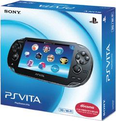 [Used] PlayStation Vita (PlayStation Vita) 3G / Wi-Fi model Crystal Black Limited Edition [PCH-1100 AA01]
