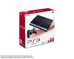 PlayStation3 CECH-4000C【500GB】チャコール・ブラック