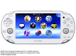 [Used] PlayStation Vita Wi-Fi Crystal White [PCH-1000 ZA02]