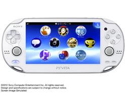 [使用]的PlayStation Vita的(的PlayStation Vita的)3G /无线网络连接模型水晶白[PCH-1100 AB02]