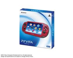 〔中古〕 PlayStation Vita Wi-Fi コズミック・レッド[PCH-1000 ZA03]
