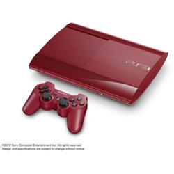 PlayStation3 CECH-4000B【250GB】ガーネット・レッド