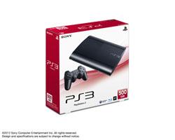 PlayStation3 CECH-4200C 500GB チャコール・ブラック