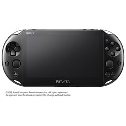 [Used] PlayStation Vita Wi-Fi black [PCH-2000 ZA11]