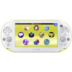PlayStation Vita Wi-Fiモデル PCH-2000 ライムグリーン/ホワイト [PCH-2000ZA13]