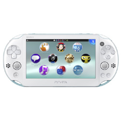 [Used] PlayStation Vita Wi-Fi light blue / white (PCH-2000ZA14)