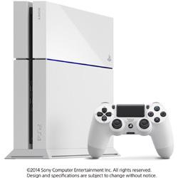 PlayStation 4 (プレイステーション4) グレイシャー・ホワイト 500GB [ゲーム機本体]