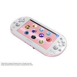 [Used] PlayStation Vita Wi-Fi Light Pink / White [PCH-2000 ZA19]
