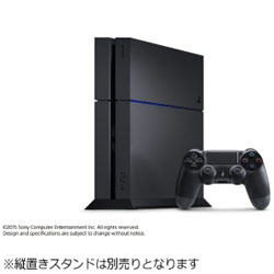 PlayStation 4 (プレイステーション4) ジェット・ブラック 500GB [PS4 ゲーム機本体] CUH-1200AB01