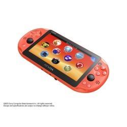 [使用]的PlayStation Vita的(维他的PlayStation)的Wi-Fi模型氖橙[PCH-2000 ZA24]