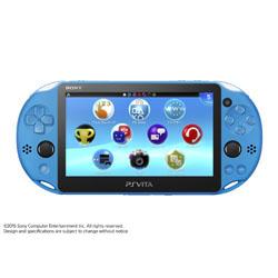 PlayStation Vita (プレイステーション・ヴィータ) Wi-Fiモデル アクア・ブルー [ゲーム機本体] [PCH-2000ZA23]