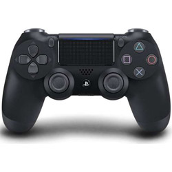 PS4専用ワイヤレスコントローラー [DUALSHOCK4] ジェット・ブラック [PS4] [CUH-ZCT2J]