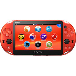 〔中古〕 PlayStation Vita Wi-Fi メタリック・レッド[PCH-2000 ZA26]