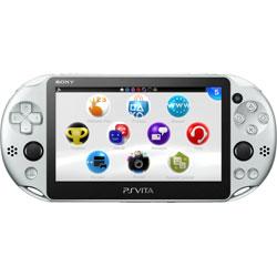 〔中古〕 PlayStation Vita Wi-Fi シルバー [PCH-2000 ZA25]