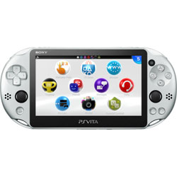 [使用]的PlayStation Vita的的Wi-Fi銀[PCH-2000 ZA25]