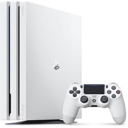 PlayStation 4 Pro (プレイステーション4 プロ) グレイシャー・ホワイト 1TB[PS4 ゲーム機本体] CUH-7000BB02