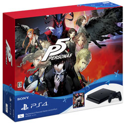 PlayStation 4 (プレイステーション4) Persona5 Starter Limited Pack [PS4 ゲーム機本体] CUH-10012