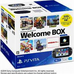 PlayStation Vita Wi-Fiモデル Welcome BOX