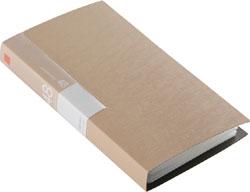 BSCD01F48BG (CD/DVDファイル/ブックタイプ/48枚収納/ベージュ)